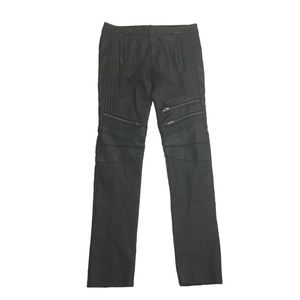 New with Defect  A.L.C Lamb Leather  Moto Pants  4